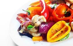 Pasto vegetariano delizioso o verdure arrostite immagini stock