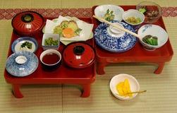 Pasto vegetariano giapponese Immagine Stock Libera da Diritti