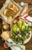 Pasto vegetariano sano immagini stock libere da diritti