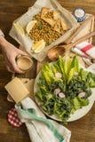 Pasto vegetariano sano immagine stock