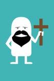Pastor animado da personalidade Imagem de Stock Royalty Free