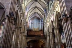 Pastor Cathedral de Buen San Sebastián, Gipuzkoa, país vasco, España Foto de archivo libre de regalías