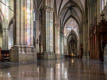 Pastor Cathedral de Buen San Sebastián, Gipuzkoa, país vasco, España Imágenes de archivo libres de regalías