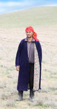 Pastor del pueblo árabe Fotos de archivo libres de regalías