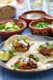 Pastor do al dos tacos, alimento mexicano Imagens de Stock