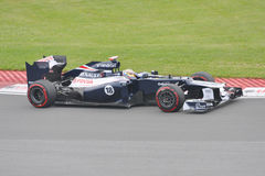 Pastor Maldonado in 2012 F1 Canadian Grand Prix Stock Images