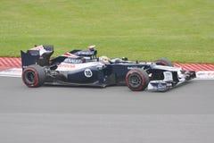 Pastor Maldonado in 2012 F1 Canadian Grand Prix Stock Images