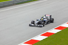 Pastor Maldonado (equipe AT&T Williams) Foto de Stock