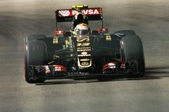 Pastor Maldonado van Lotus Royalty-vrije Stock Fotografie