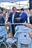 Pastor Rick Warren foto de stock