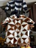 Pastor tradicional Fur Coat Imagen de archivo libre de regalías