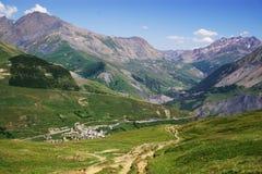 Pastoraal de zomerlandschap van Savoia Stock Afbeeldingen