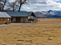 Pastoral abandoned ranch Royalty Free Stock Photography