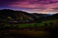 Pastoral Autumn Landscape Environment Stock Photos