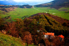 Pastoral autumn in Rhodopes Stock Photography