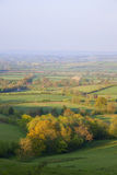 Pastoral countryside in Spring, England Stock Photography