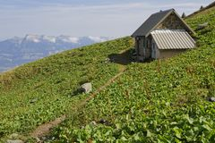Pastoral Hut of the Grand Colon Stock Images
