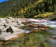 Pastoral  Krimml waterfalls Royalty Free Stock Photos