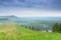 Pastoral landscape Stock Image
