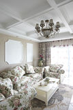 The pastoral style living room Royalty Free Stock Images