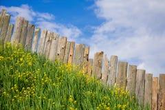 Pastoral views of the palisade. Royalty Free Stock Photo