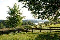 Pastoralny krajobraz Zdjęcia Stock