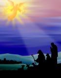 Pastores de Bethlehem Fotos de Stock
