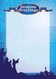 Pastores de los saludos a3 Imagen de archivo