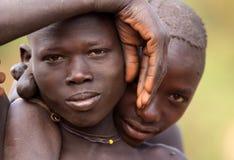 Pastores do gado de Suri Fotografia de Stock Royalty Free
