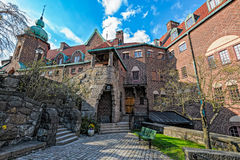 Pastors expedition of Engelbrekts church in Stockholm, Sweden Royalty Free Stock Images