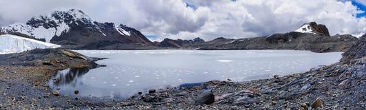 Pastoruri glacier in  Cordillera Blanca, Peru Royalty Free Stock Image