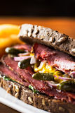 pastrami photo stock