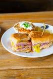 Pastrami Grinder Sandwich Stock Image