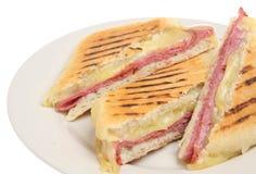 pastrami panini сыра Стоковое фото RF