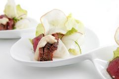 pastrami piec na grillu tuńczyk Zdjęcie Stock