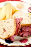 Pastrami  on Rye Stock Photos