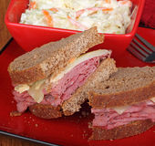 Pastrami on Rye Stock Images
