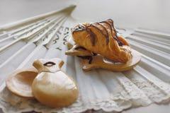 Pastrie och kastanjetter Fotografering för Bildbyråer