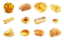 Pastries stock photos