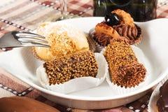 Pastries stock image