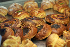 Pastries. French pastries in a bakery Royalty Free Stock Photography