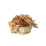 Pastries and bagles Royalty Free Stock Photo
