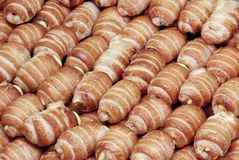 Pastries - cannoncini Stock Photo