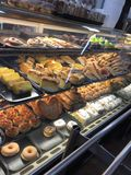 Pastries choices. Food- pastries- dessert- sweets Stock Image