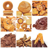 Pastries collage Royalty Free Stock Photography