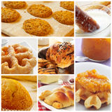 Pastries collage Stock Image