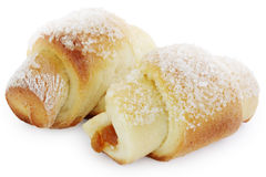 Pastries croissants Stock Images