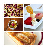 Pastries and desserts Royalty Free Stock Photography