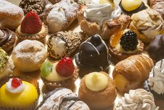 Pastries, full frame photo Royalty Free Stock Photos