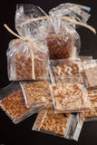 Pastries with nuts Stock Photography